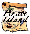Pirate Island - a kid party idea