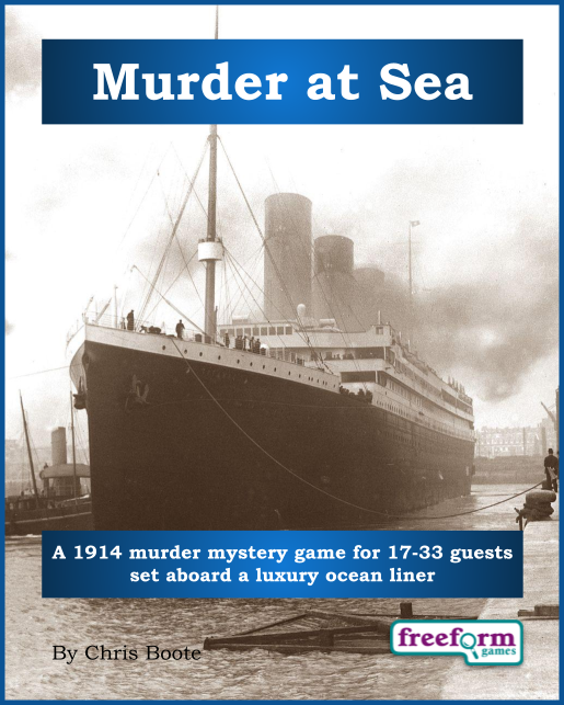 Murder at Sea - a nautical murder mystery